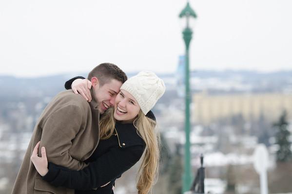 Hotel Hershey Winter Engagement