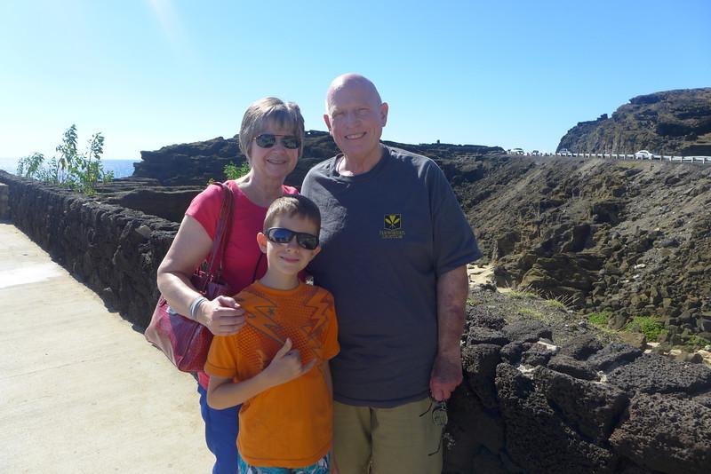 Halona Blowhole, Hidden Beach