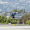 Harrison Ford Lands his Grand Caravan.