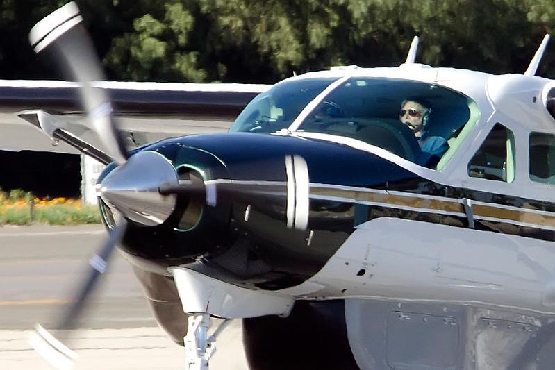 Harrison Ford Lands his Grand Caravan.