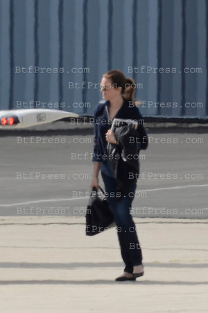 Harrison Ford take off with guest from Santa Monica airport to San Jose (California) with his private jet.