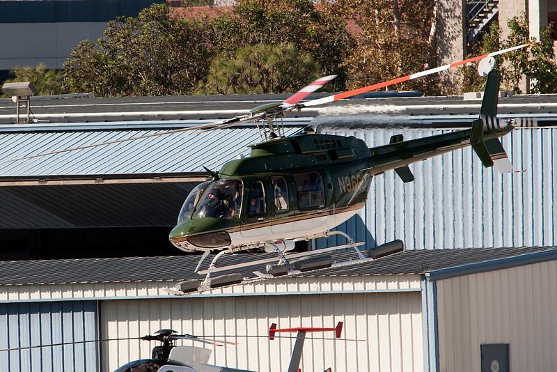 Harrison Ford flies on Saturday