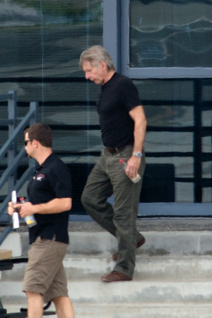 Harrison Ford in good spirit