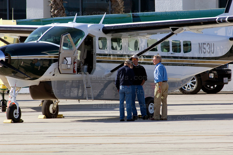 Exclusive---- Harrison Ford flow on two different planes today, the first was his big Cessna with 12 seats and the other one was a beautiful yellow  Aviat Aircraft A-1C-20.