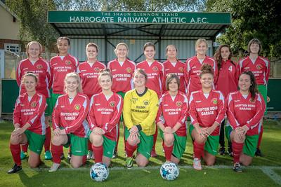 Harrogate Railway Ladies 2016/7 Squad