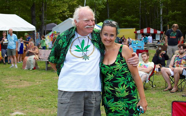 16.08.20 26th Annual Rally for Cannabis Liberation at Harry's Hill in Starks