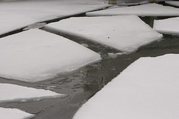 Close up of the ice, remember this will soon be gone