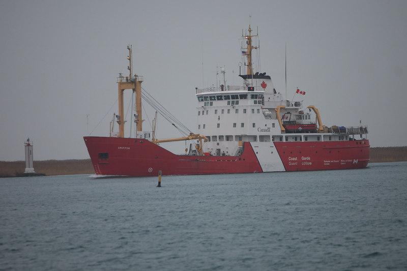 "Canadian Coast Guard ""Griffon"""