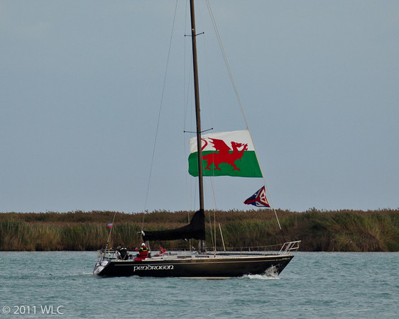 Sailing Yacht Pendragon from Bayview Yacht Club , BYC