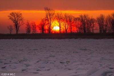 Fire & Ice Sunrise