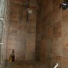 Large master shower area