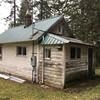 Original derelict cabin.