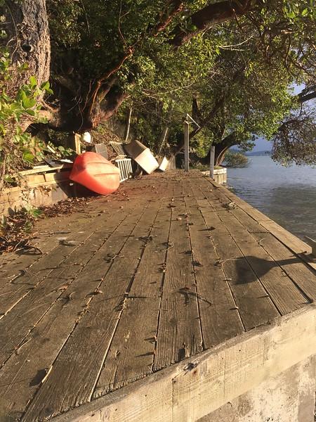 Neighbor's dock