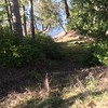 Very steep trail to beach (west side of property)