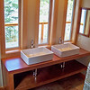 Custom master bath vanity 5-12-09