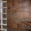 Master shower entry