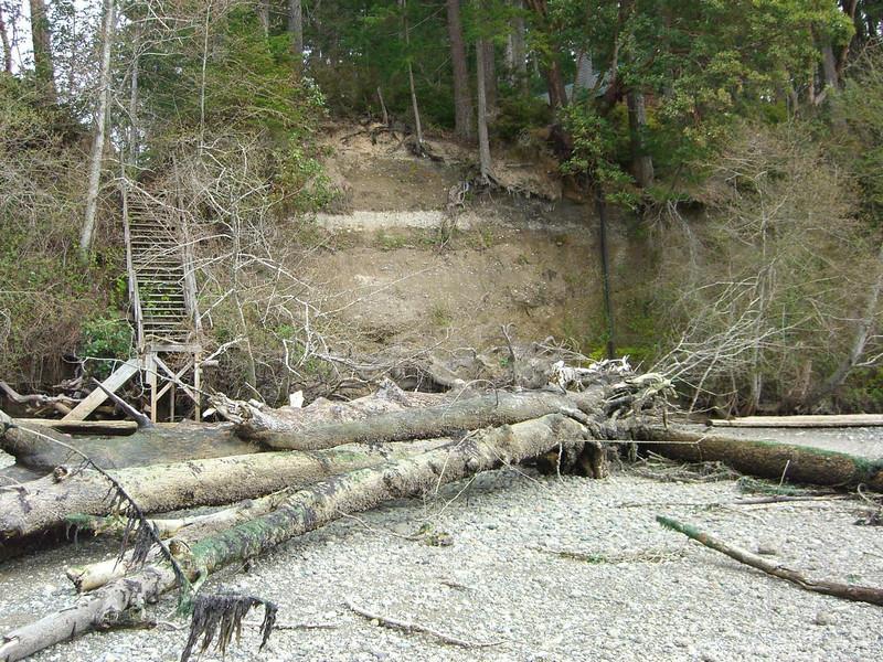 11 - erosion down the beach