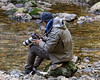 Marven Robinson, Gitga'at spirit bear guide, Gribbell Island, British Columbia