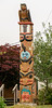 Gitga'at totem pole