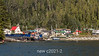 Waiting for the ferry to Prince Rupert, Hartley Bay wharf, north coastal British Columbia