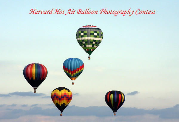 Harvard Hot Air Balloon Photography Contest