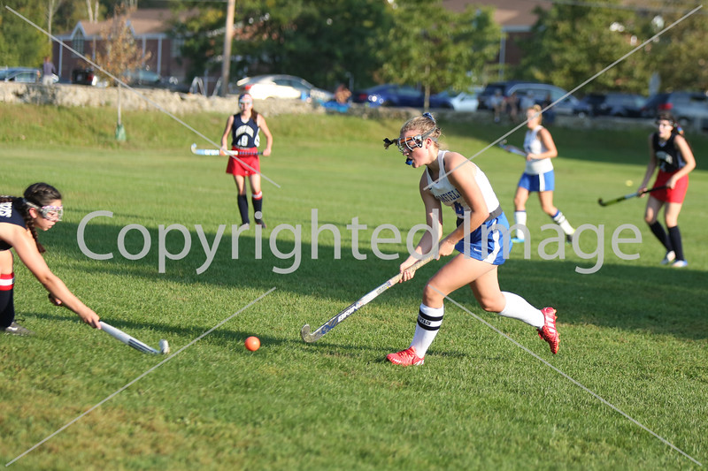 Senior Lauren Hadorn goes in for a shot.