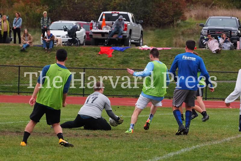 Bromfield Alumni Soccer.  Odds vs Evens