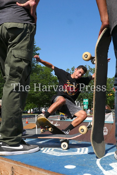 2019 Central Mass Skateboard Festival<br /> Jesse Fabrizio of Fairfield CT is totally focused during his session and was awarded the Central Mass 10 MVP all around Champion title.