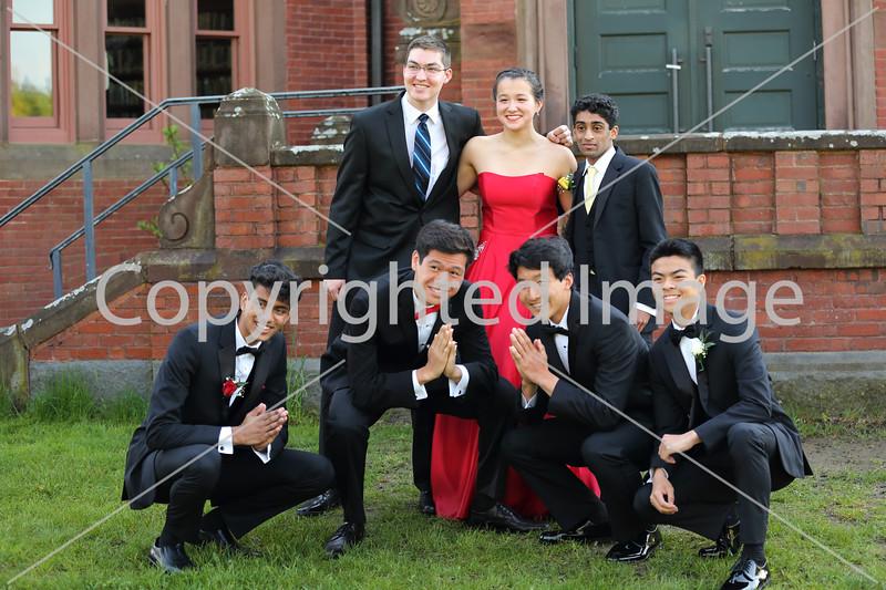 Front row, from left: Nikhil Kommineni, Raymond Li, Kevin Yu, Vito Montesa. Back row, from left: Andrew HIll, Kate Seliz, and Yohhan  Kumarasinghe. Debate team
