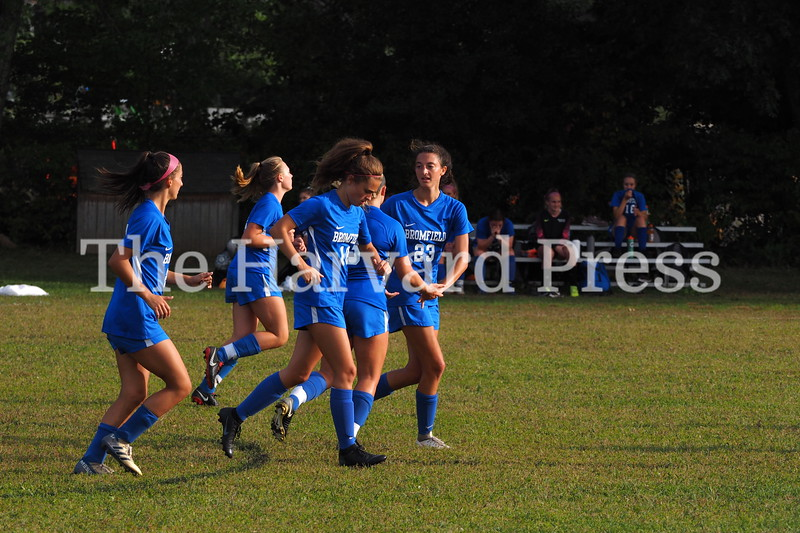 2019 Bromfield Womens Varsity Soccer<br /> 09/05/2016<br /> Bromfield Vs Clinton HS <br /> Bromfield Wins 7-1