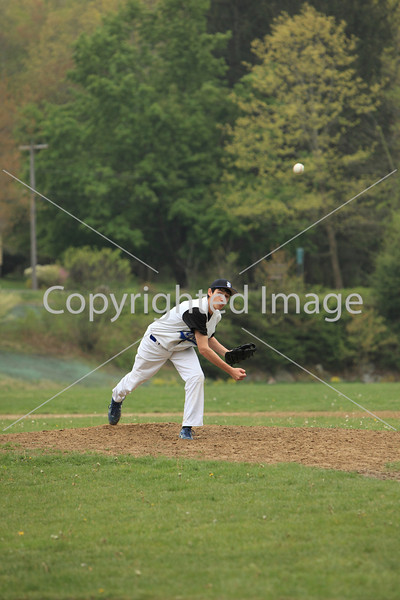Nick George releases watches his pitch.