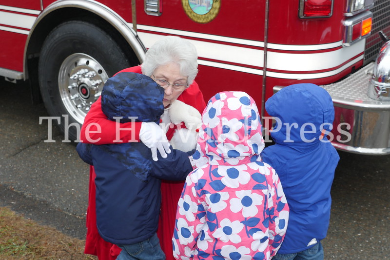 December Fest<br /> Lunch with Santa<br /> Holiday Market at the General<br /> Craft Fair at Five Sparks<br /> <br /> Mrs. Claus was left holding Santa's bag and had plenty of hugs to share.