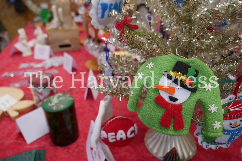 December Fest<br /> Lunch with Santa<br /> Holiday Market at the General<br /> Craft Fair at Five Sparks<br /> <br /> Handmade ornaments could be procured at Grandma's gift shop at the Congregational church during their annual Christmas Fair.