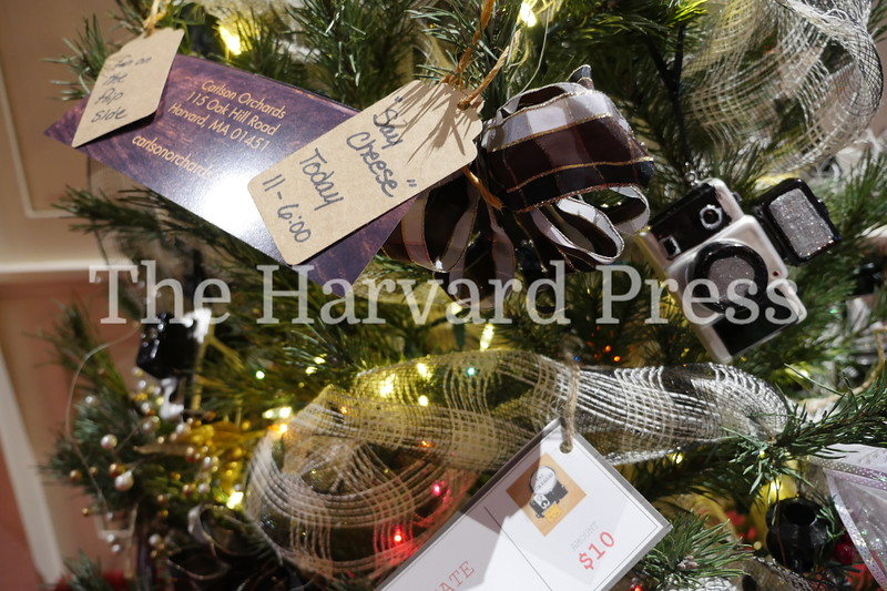 December Fest<br /> Lunch with Santa<br /> Holiday Market at the General<br /> Craft Fair at Five Sparks<br /> <br /> Carlson's Orchards featured several trees this year, this one with immediate gratification of hot grilled cheese that afternoon at the ciderhouse Oak Hill road,