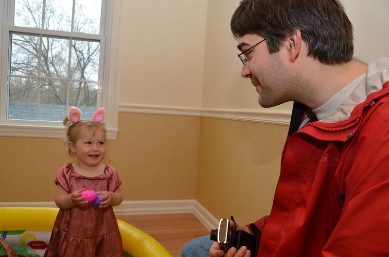 Noelani Introne at Harvard Easter Egg Hunt April 23, 2011