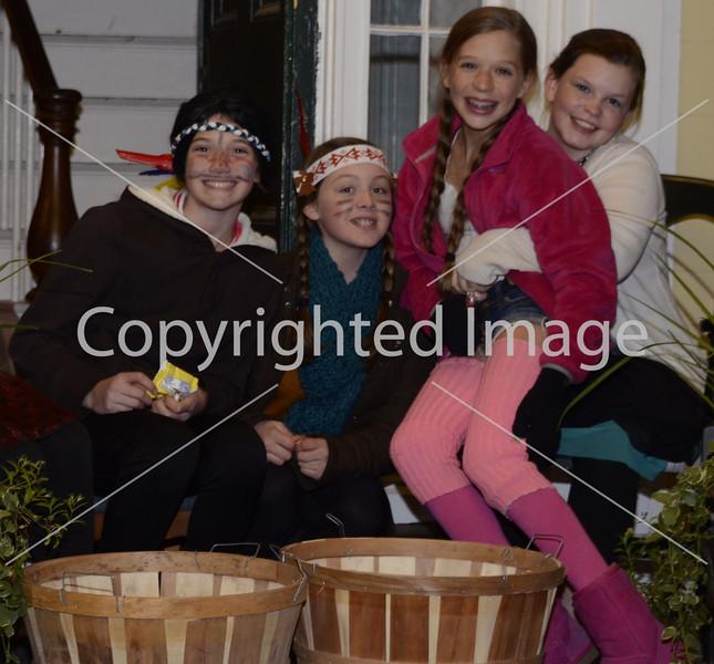 Caroline Noyes, Emma Stoffel, Cammy(?) Farren, Scarlett O'Brien