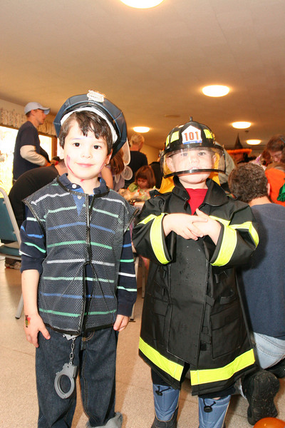 Merlin Feist and Logan Anderson are ready to join the town's public safety staff.