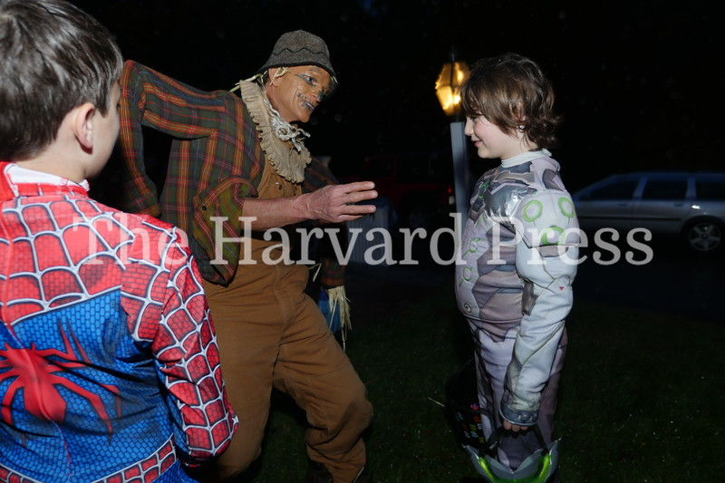 Harvard Halloween 2019 Windy, rainy and warm.