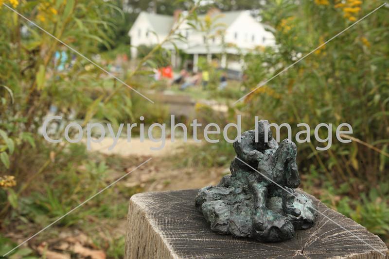 Couple Kneeling by Linda Hoffman