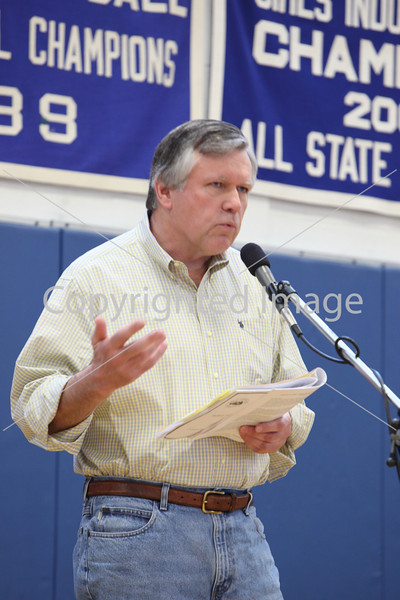 George McKenna at Annual Town Meeting 2010