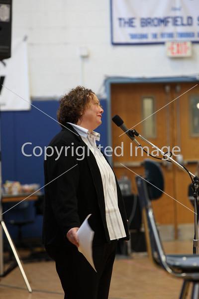 Kara Minar at Annual Town Meeting 2010