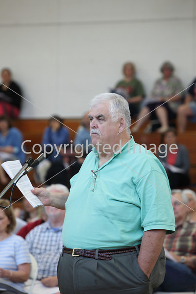 Dick Powderly at Annual Town Meeting 2010