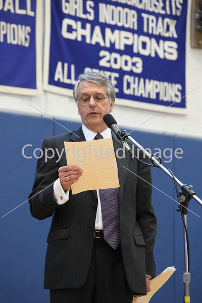 Keith Cheveralls at Annual Town Meeting 2010
