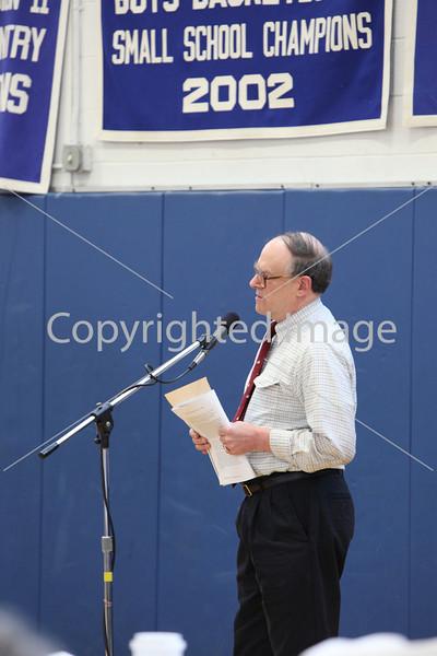 Steve Caldwell at Annual Town Meeting 2010