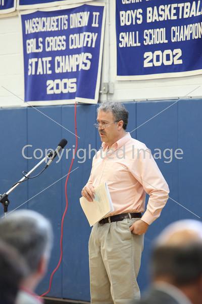 Bob Thurston at Annual Town Meeting 2010