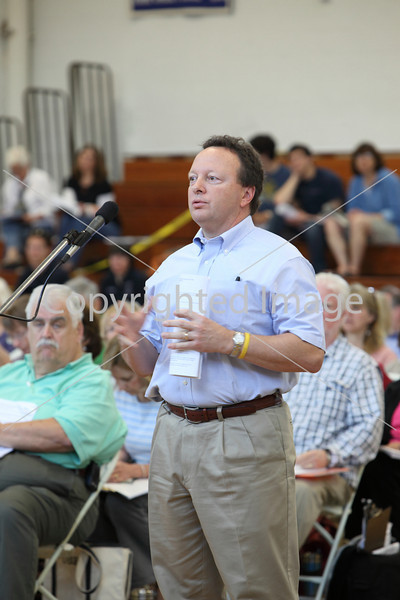 Steve Rowse at Annual Town Meeting 2010
