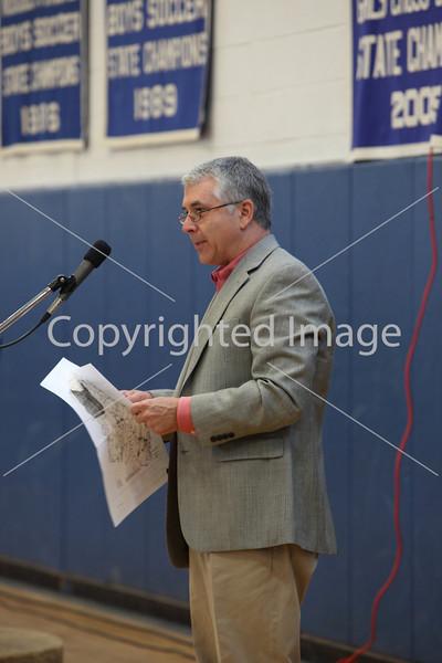 Craig Bardenhauer at Annual Town Meeting 2010