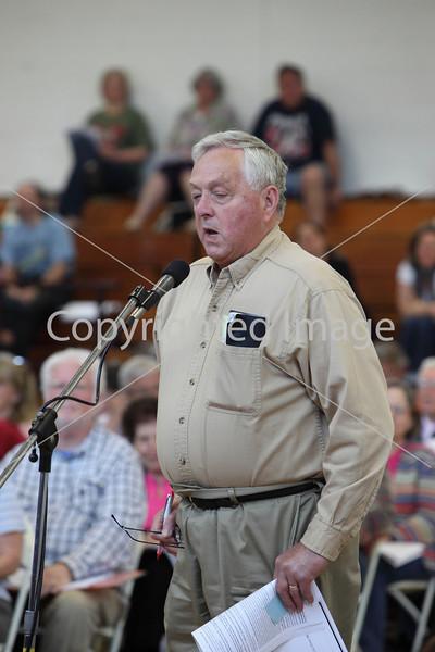 Bob Hughes at Annual Town Meeting 2010