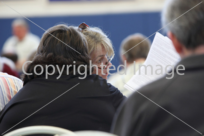 Kirsten Wright at Annual Town Meeting 2010