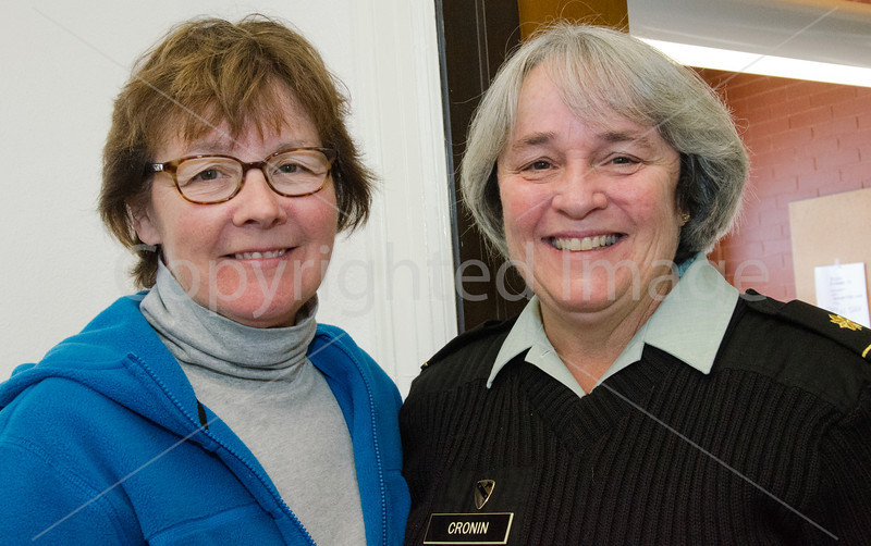 Nancy Cronin (on Left) with her best friend Paula Johnston